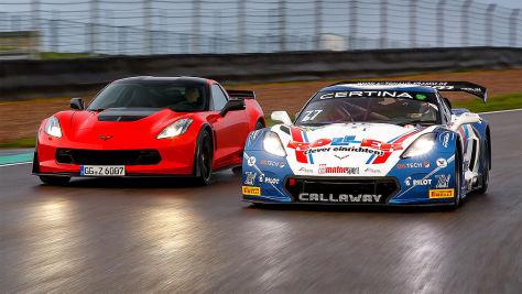 Corvette GT3-R/Corvette Z06: Tracktest