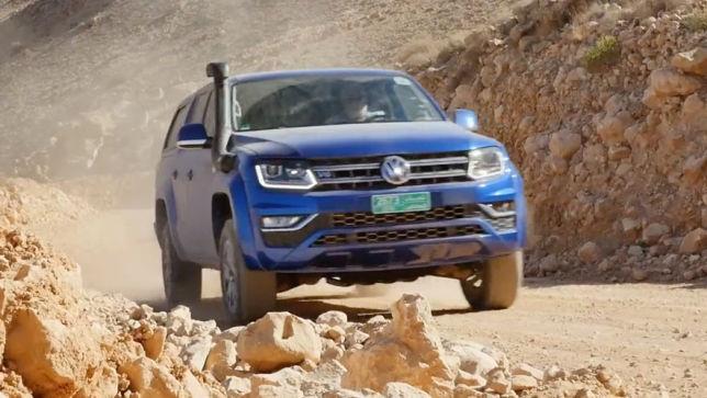 Im Power-Pickup durch die Wüste