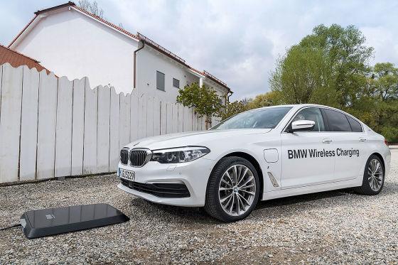 Induktives Laden für den BMW 530e