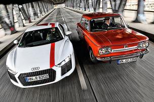 Audi R8 RWS/NSU TT: Test