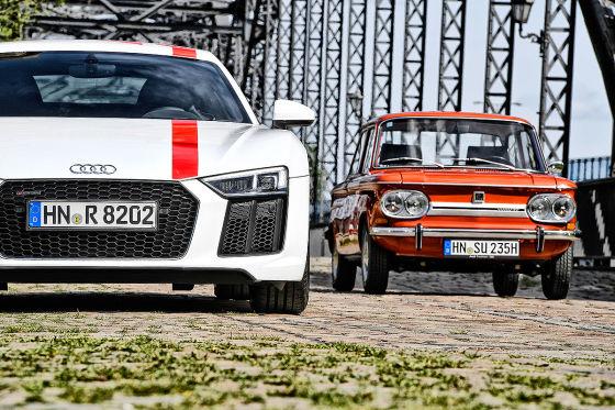 Audi R8 RWS NSU TT