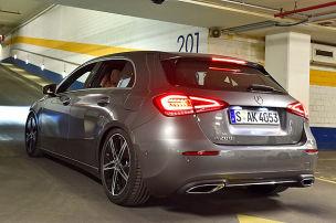 Mercedes A-Klasse: Test