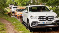 Mercedes X-Klasse/Nissan Navara/Renault Alaskan/VW Amarok: Test