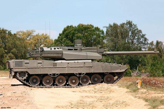 Das ist der neue Euro-Panzer