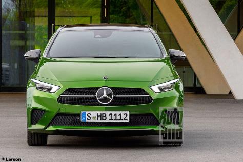 Mercedes-Kleinwagen A City (2022): Vorschau - autobild.de