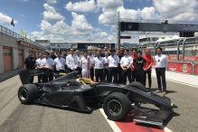Super Formula: Neues Auto getestet