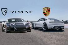 Porsche kauft sich bei Rimac ein