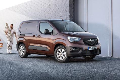 Opel Combo Nutzfahrzeug (2018): Vorstellung, Ladefläche ...