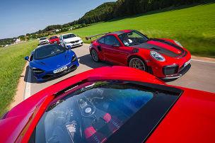 GT2 RS, Civic, TT, M550d & Co.: Turbos im Test
