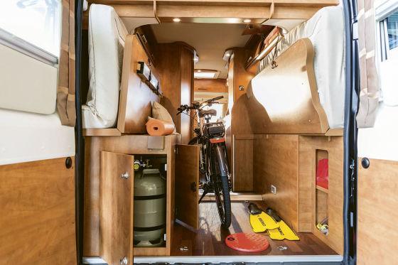 Fahrradtransport Malibu Van