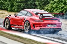 Porsche fliegt zur Bestzeit