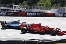 """Vettel sauer: """"Die Strafe war Quark"""""""