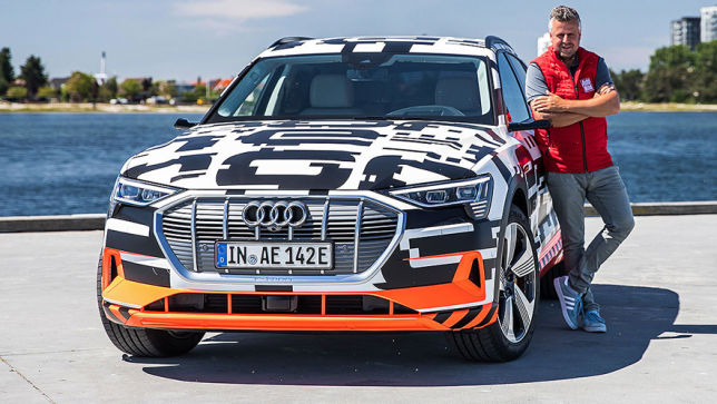 Audis Angriff auf Tesla