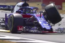 Hartley fliegt mit Tempo 300 ab