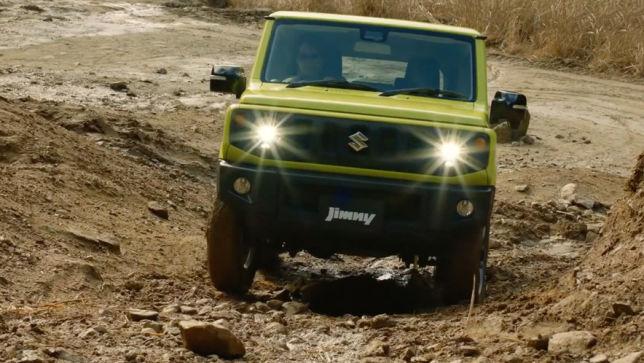 Trailer zum Suzuki-Offroader