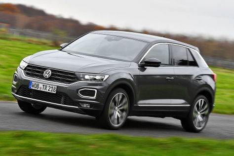 vw t roc 2 0 tsi im test ist das kompakt suv seinen preis. Black Bedroom Furniture Sets. Home Design Ideas