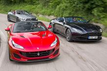 Aston Martin DB11 V8 Volante/Ferrari Portofino/Mercedes-AMG SL 63: Test
