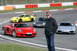 Porsche 959/Carrera GT/911 GT3 RS/918 Spyder: Test
