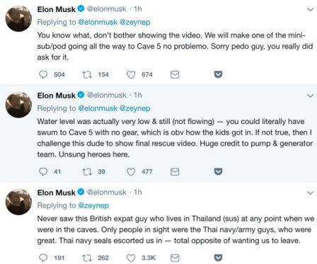 Musk beschimpft Höhlentaucher als Pädophilen