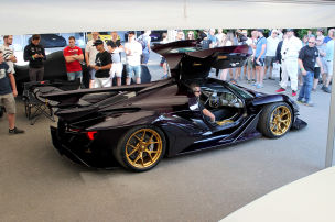 Supercar-Paddock in Goodwood (2018): Ranking