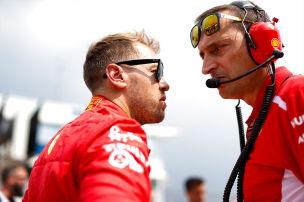 Coulthard: Hetzte Ferrari Vettel in Fehler?