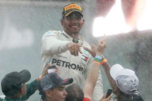 Kurios: Im Regen siegt immer Hamilton…