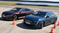 Peugeot 508/VW Arteon: Test