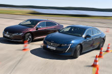 Peugeot 508/VW Arteon: Test