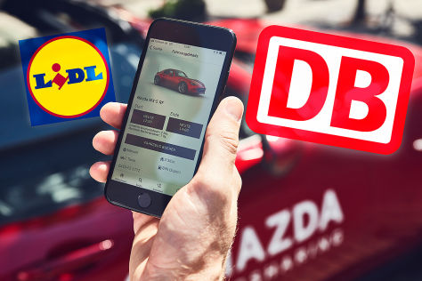Lidl: Carsharing-Kooperation mit Mazda