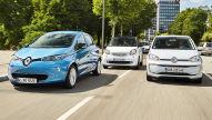 Renault Zoe/Smart EQ fortwo/VW e-Up: E-Autos im Test