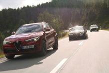 Mit Alfa durch die Alpen