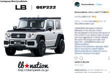 Suzuki Jimny (2018): Liberty Walk