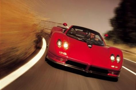 Fahrbericht Pagani Zonda Roadster