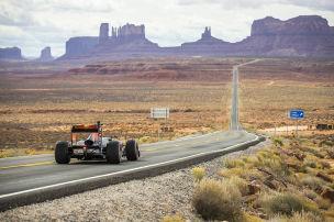Mit dem Formel-1-Renner durch die USA