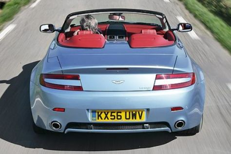 Test Aston Martin V8 Vantage Roadster