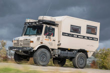 Unimog 435 Expeditionsfahrzeug von Atlas 4x4