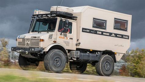 Unimog 435 Expeditionsfahrzeug von Atlas 4x4: Test