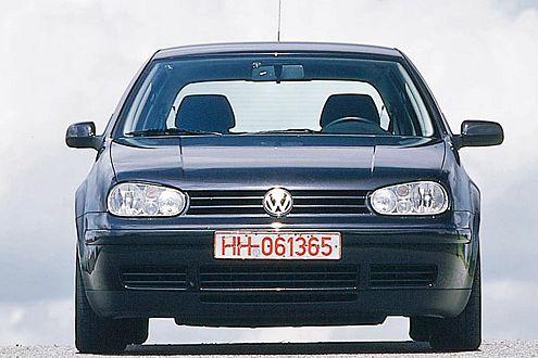 Nicht nur zeit-, sondern auch klassenlos: der VW Golf.