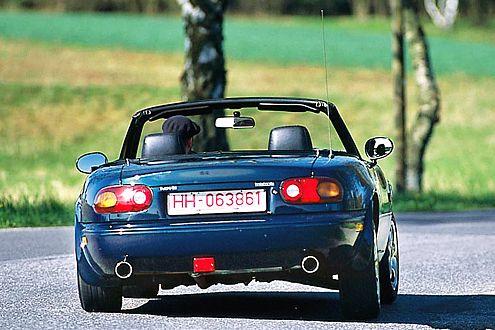 Vernünftiger Fahrspaß: Der Mazda MX-5 ist sportlich und zuverlässig.