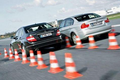 BMW 320d gegen Mercedes C 220 CDI