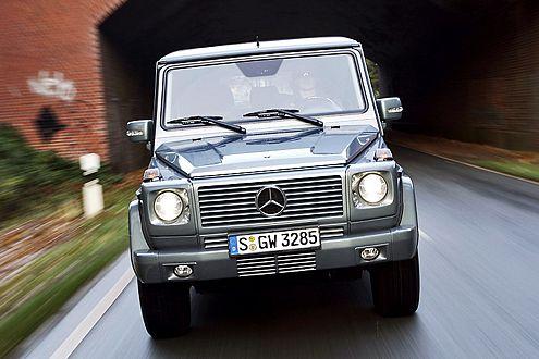 Auf dem Geländewagen-Olymp: das Mercedes-Benz G-Modell.