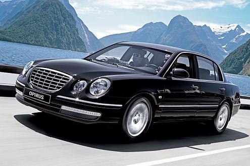 Für 39.900 Euro bekommt der Opirus-Käufer fünf Meter Korea-Luxus.
