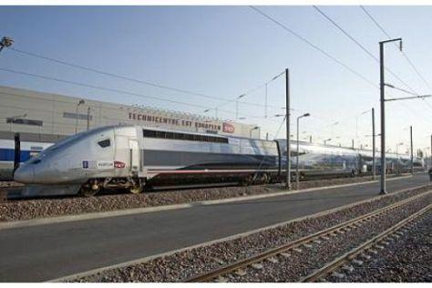 TGV fährt 574,8 km/h