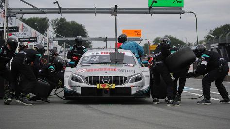 DTM: Mercedes-Boxenstopps