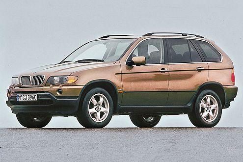 BMW X5 3.0d: grüne Plakette durch Nachrüst-Dieselpartikelfilter.