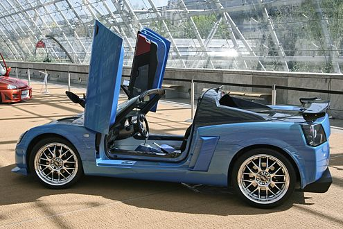 Es wird Sommer, Schatz: Die Autos flattern schon mit ihren Flügeln.