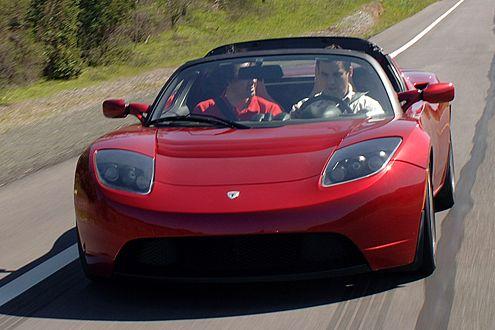 Für Schaltfaule: der elektrische Roadster hat nur zwei Gänge.