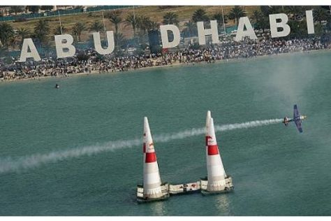 Red-Bull-Air-Race in Abu Dhabi