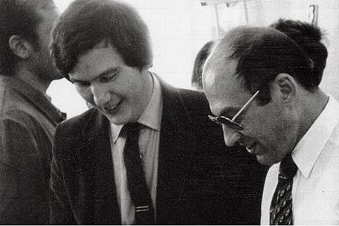 Tüftler und Chef: Johannes Vollrath mit Franz-Josef Paefgen (links).
