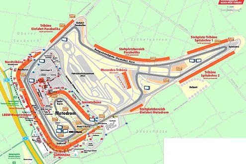 Der Hockenheimring 2007